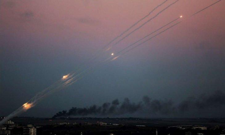 مغذي الرسائل النارية بين حماس واسرائيل
