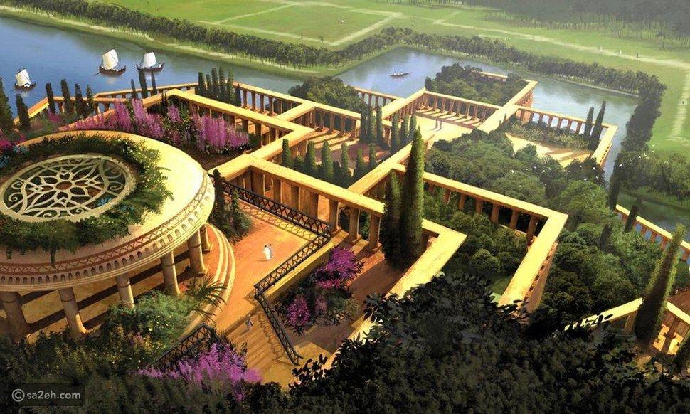 تعريف حدائق بابل المعلقة