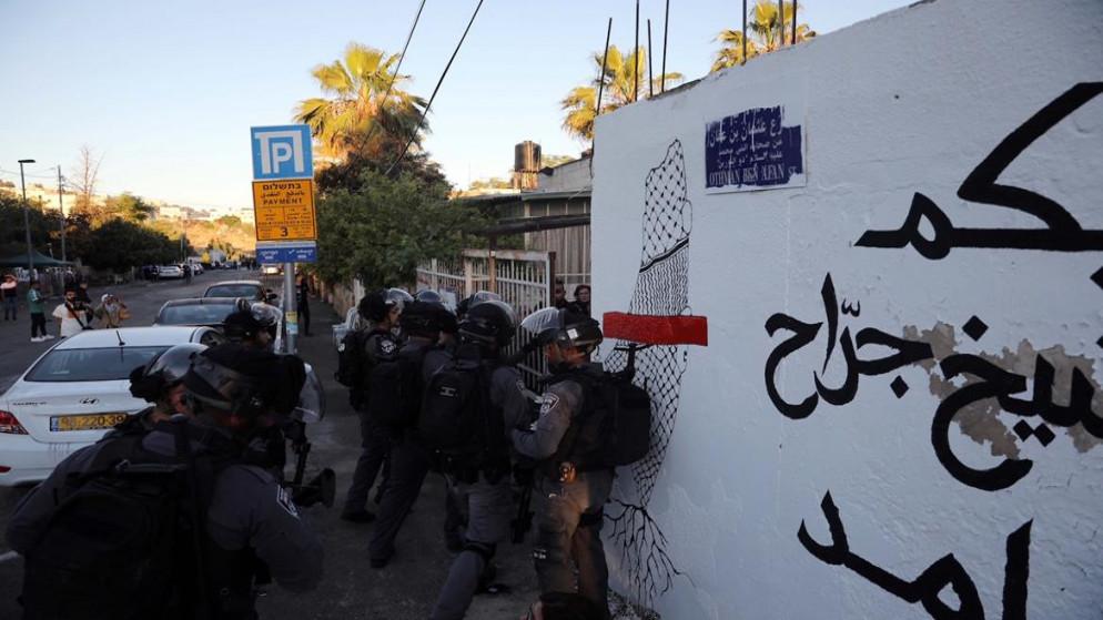 إصابة 20 فلسطينياً في حي الشيخ جرّاح جراء اعتداء قوات الاحتلال الإسرائيلي