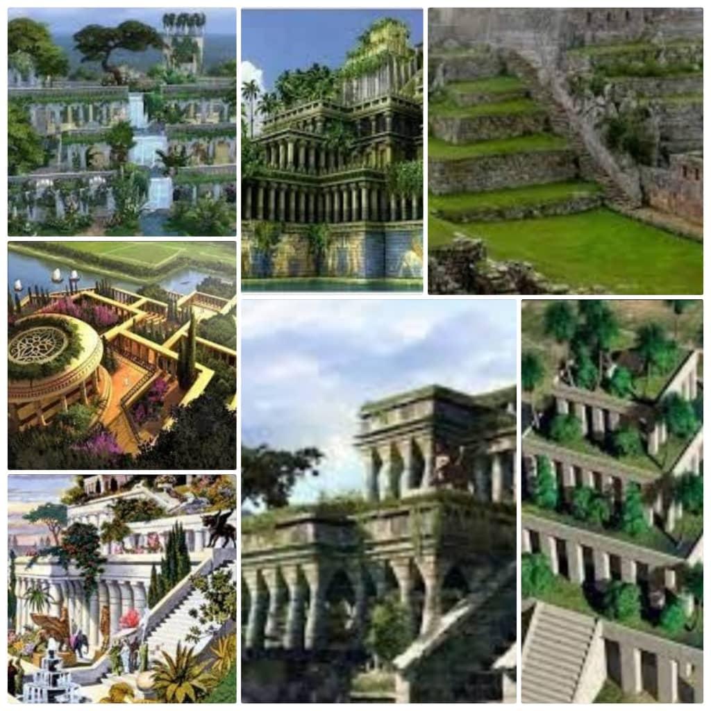 حدائق بابل المعلقة بالصور
