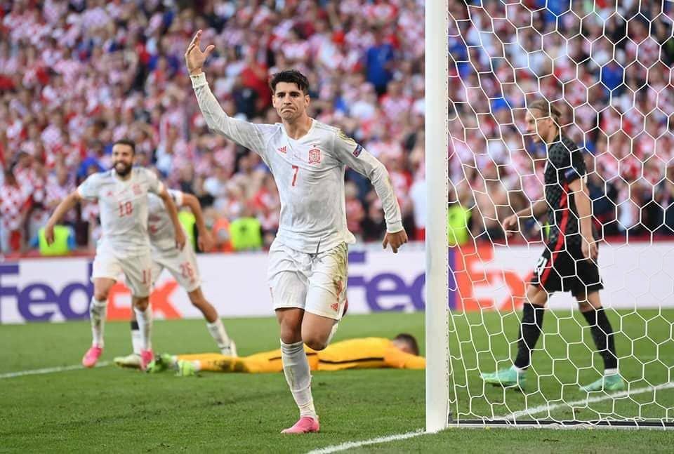 إسبانيا وكرواتيا.. مباراة ماراثونية بأرقام تاريخية في يورو 2020