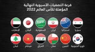 منتخبات عربية في مجموعة واحدة بتصفيات كأس العالم