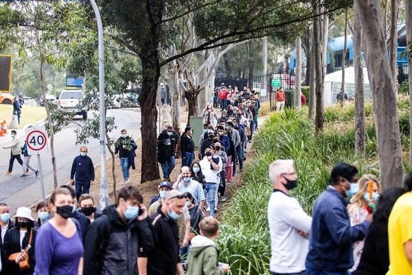 """السيطرة على متحور """"دلتا"""" تزادد صعوبة في أستراليا"""