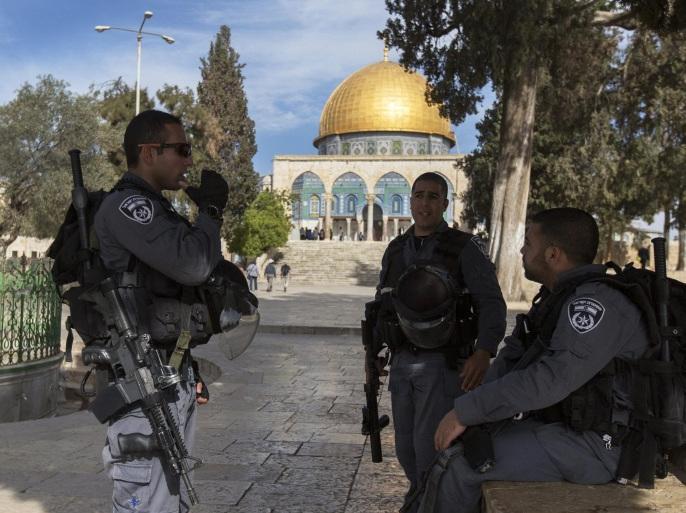 """""""مركز القدس للشؤون العامة والسياسية"""": هل غيّرت إسرائيل فعلاً علاقتها بالحرم القدسي؟"""