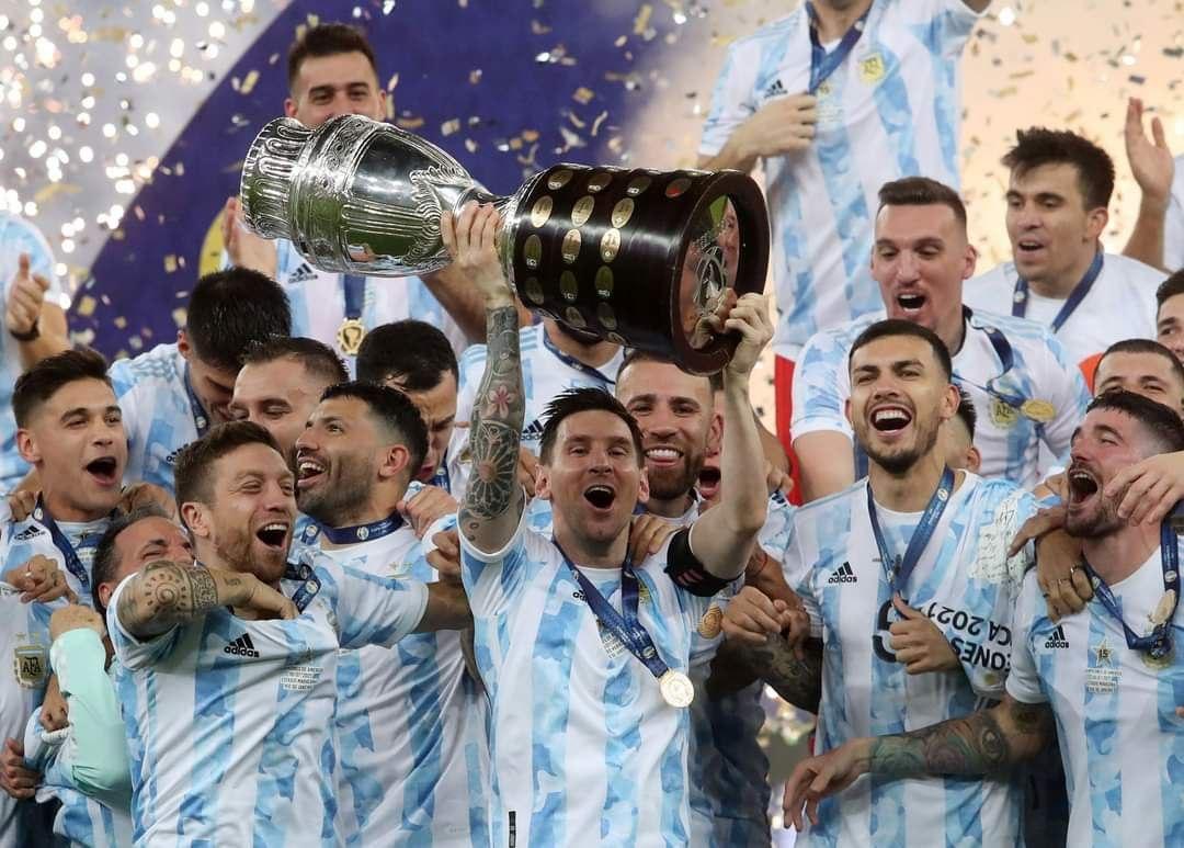 الأرجنتين تتوج بلقب كوبا أمريكا على حساب البرازيل