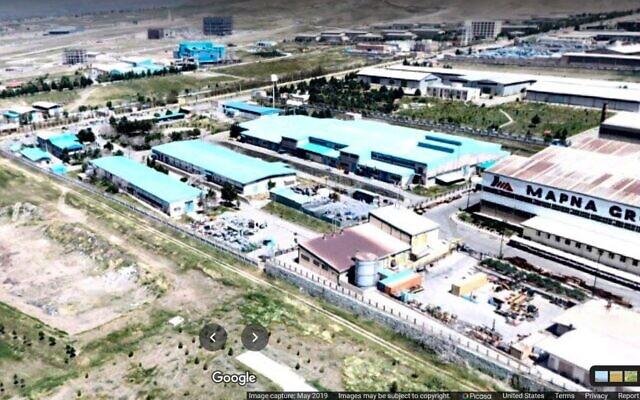 إيران تتهم إسرائيل بتخريب المنشأة النووية في منطقة كرج