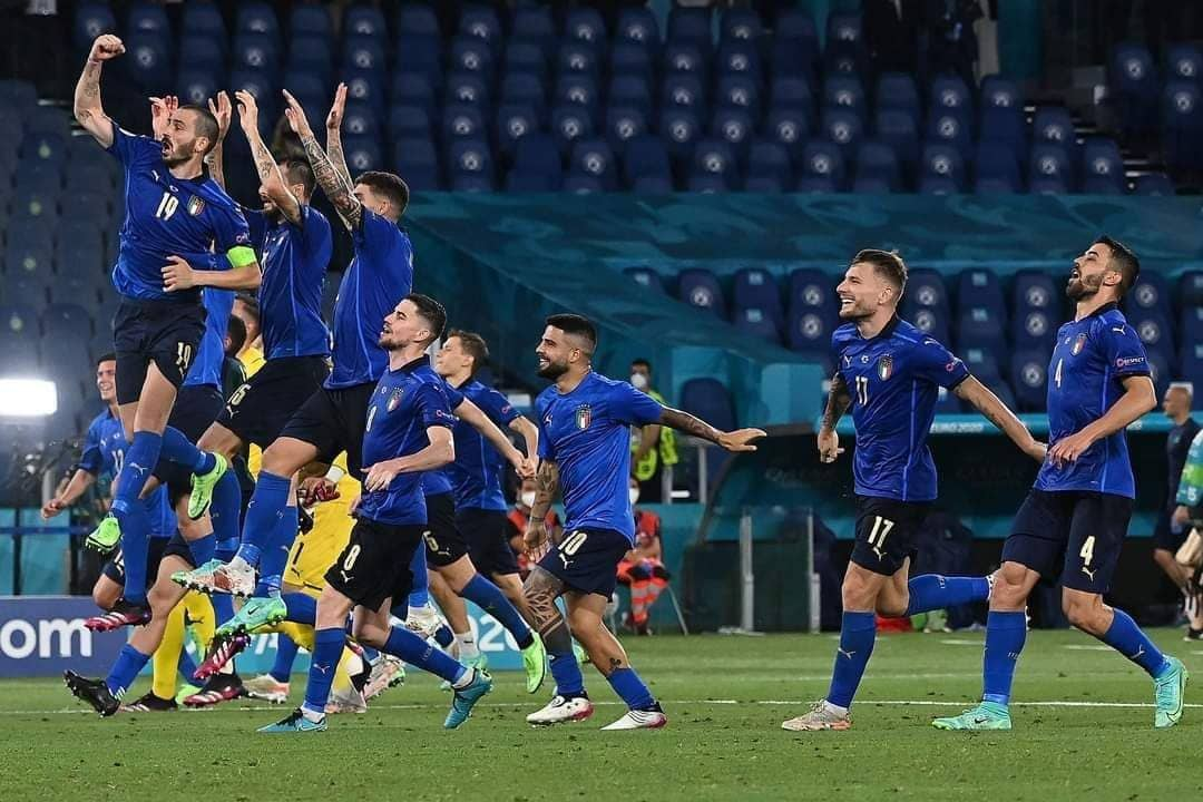 أهداف مباراة إيطاليا وإنجلترا وركلات الترجيح في نهائي أمم أوروبا