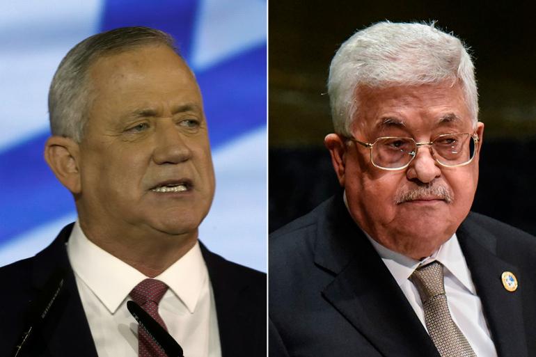 اجتماع غانتس بعباس لايبشر باستئناف عملية السلام مع الفلسطينيين