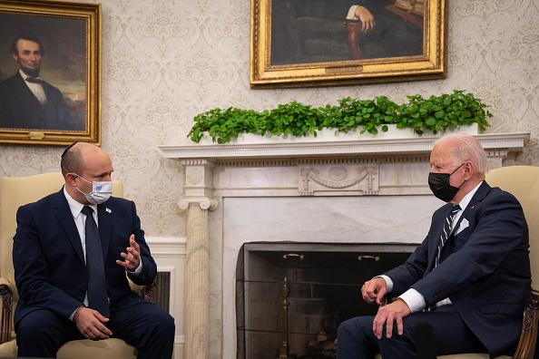 """""""يسرائيل هيوم"""": الاجتماع بين بايدن وبينت لم ينطو على أي بشرى حقيقية فيما يتعلق بالتهديد الإيراني في الشرق الأوسط"""
