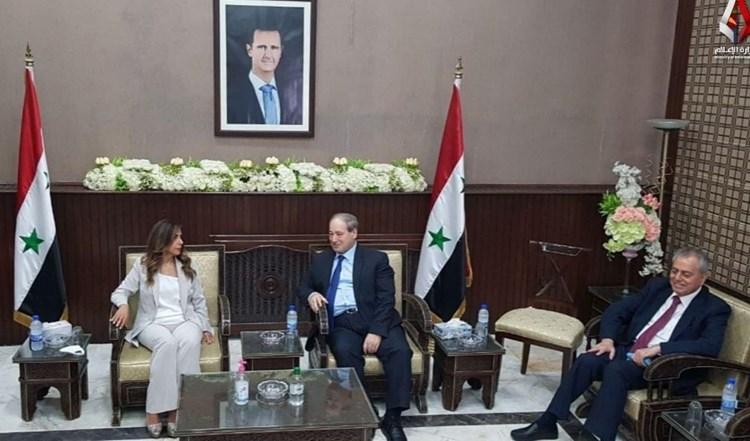 الأسد وبايدن يتحدان لمساعدة لبنان