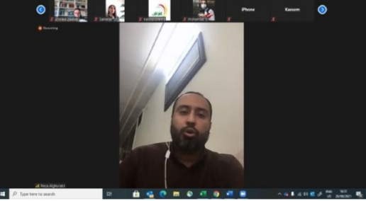 الباحث والمحلل السياسي رضا الغرابي