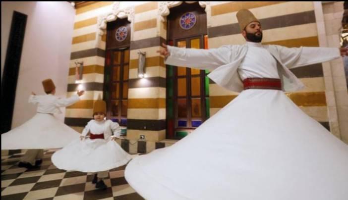ممارسة الرّقصة الصّوفية