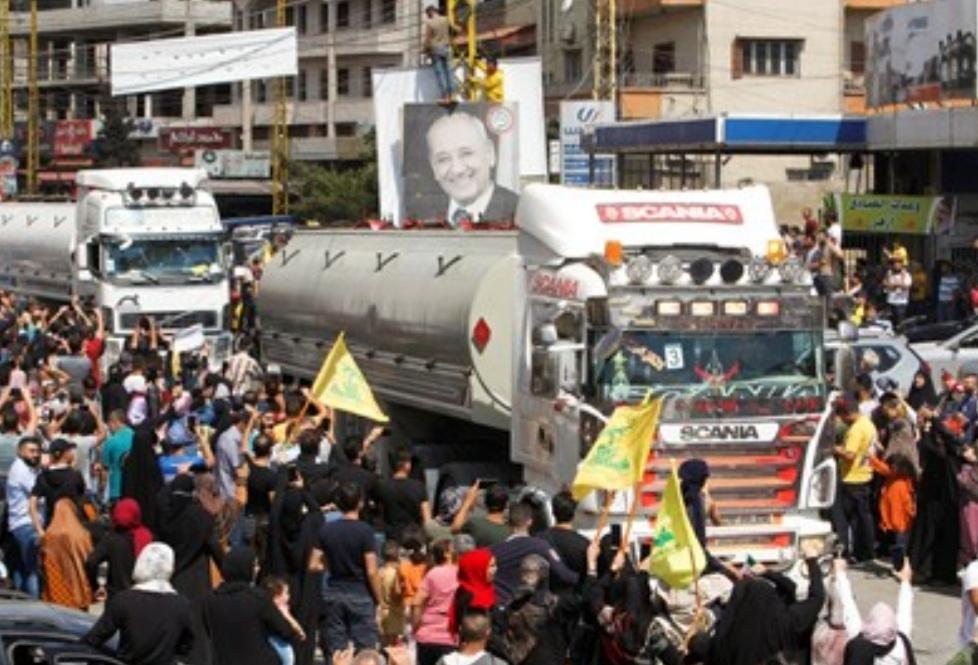 """""""نيويورك تايمز"""": حزب الله ربح جولة ضد أميركا بجلبه الوقود من إيران"""